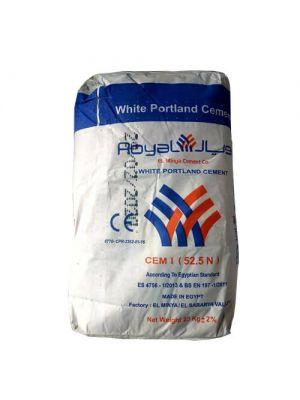 Цемент білий Royal El Minya (Египет) 25 кг