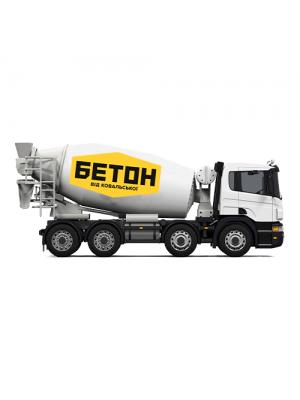 Товарный бетон М 350 БСГ В25 Р3 F200 W8 (летний) Ковальськая