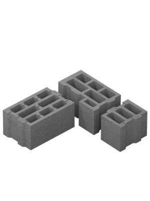 Бетонний блок стіновий 400х250х200