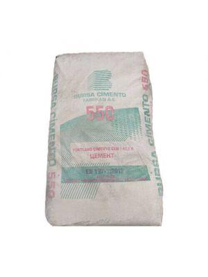 Сірий цемент М550 Bursa (Туреччина) СЕМ І 42,5R 25кг (пластик)