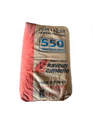 Цемент турецький марки М 550 СЕМ І 42,5R