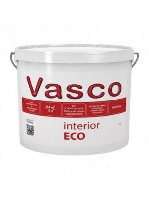 Фарба інтер'єрна Interior ECO VASCO біла 9л