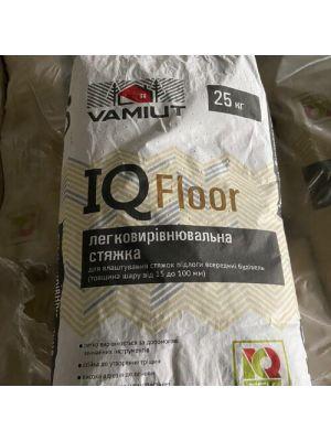 Суха суміш для стяжки підлоги IQ Floor Vamiut