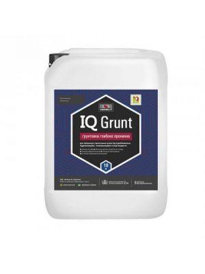 Грунтовка IQ Grunt 10л, глибокого проникнення для зміцнення і просочення підстав
