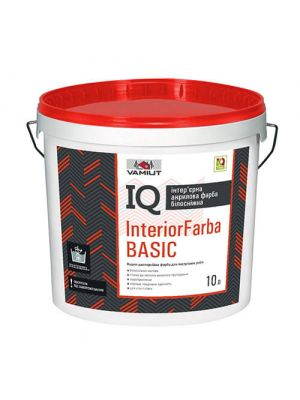 Фарба IQ Interior Farba BASIC - 10л