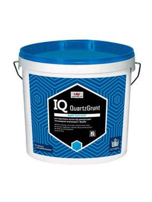 Грунтовка для декоративної штукатурки IQ QuartzGrunt 10л