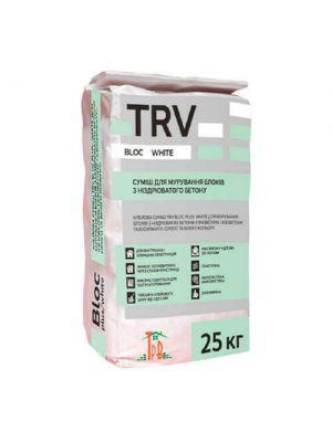 Білий Клей шпаклівка TRV Block White 25 кг