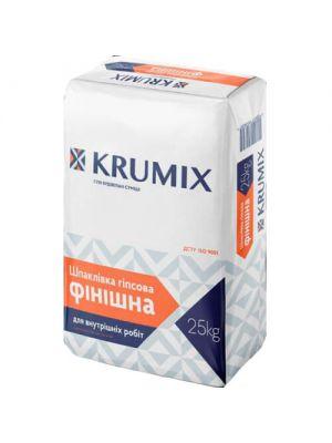 Шпаклевка гипсовая финишная Krumix