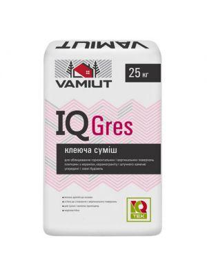 Клей для плитки из керамогранита IQ GRES