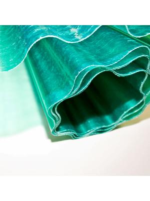 Шифер пластиковий зелений Vetroplast Magniplast (прозорий, зі скловолокна)