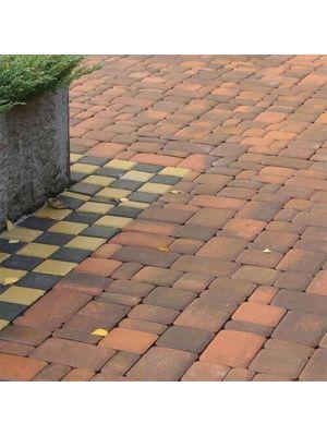 Тротуарная плитка Старый город сиена 60мм Золотой Мандарин