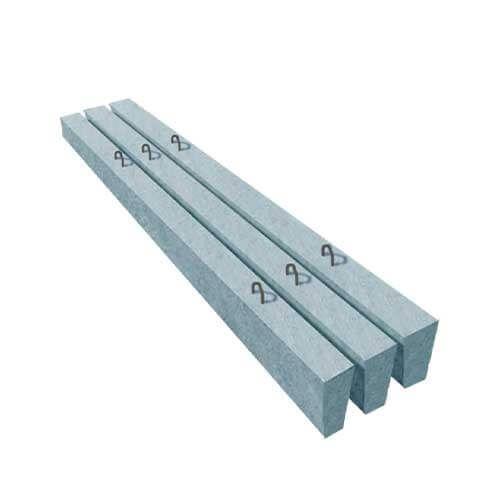 Перемичка бетонна 10ПБ 27-37-П (брускова)