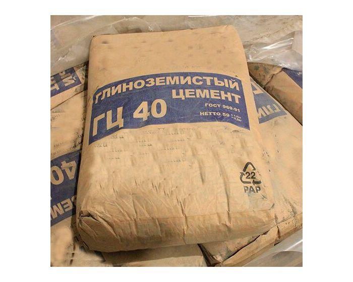 Глиноземний цемент ГЦ-40