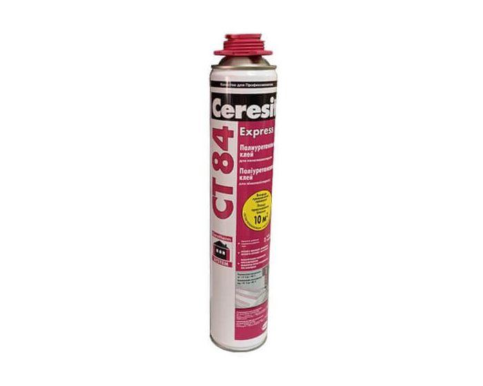 Ceresit Express СТ 84 Полиуретановый клей (пена клей), 850 мл