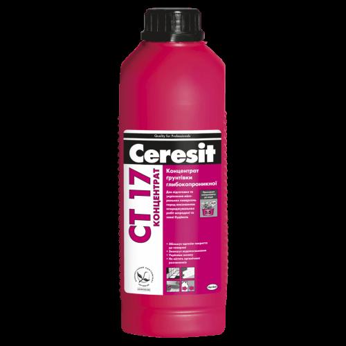 Концентрат грунтовка глубокопроникающая Ceresit СТ 17 Pro