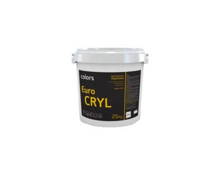 Штукатурка акриловая 1,5 мм; барашек белая Colors/Proma EURO CRYL 25 кг