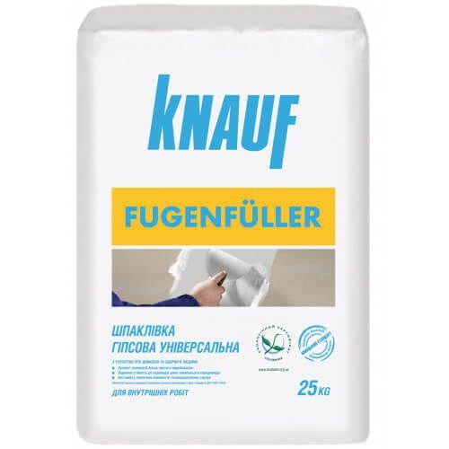 Knauf Fugenfuller шпаклевка для внутренних работ, заделки швов
