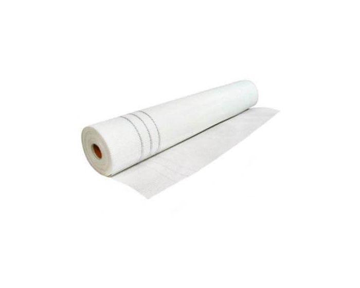 Сітка штукатурна фасадна (склосітка) Сварог 145 мг / м2, 50м2