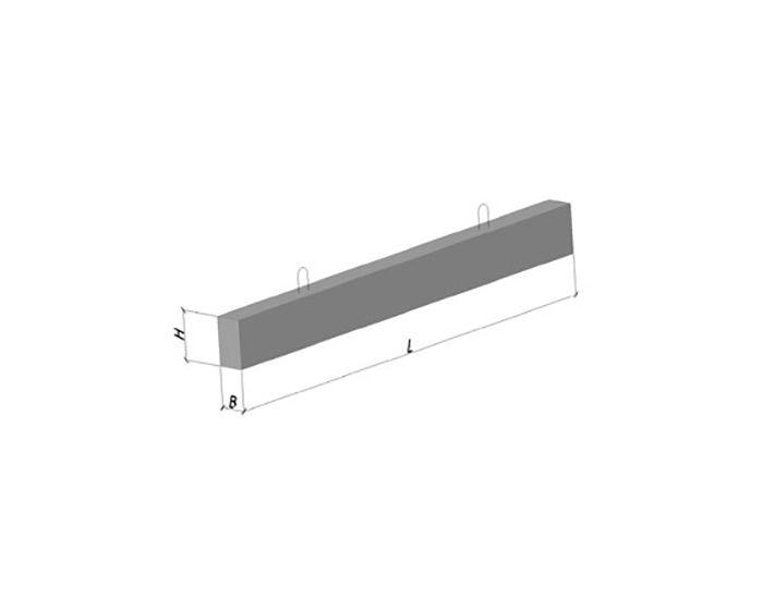 Перемичка плитна 8 ПП 25-8 (бетонна, залізобетонна)