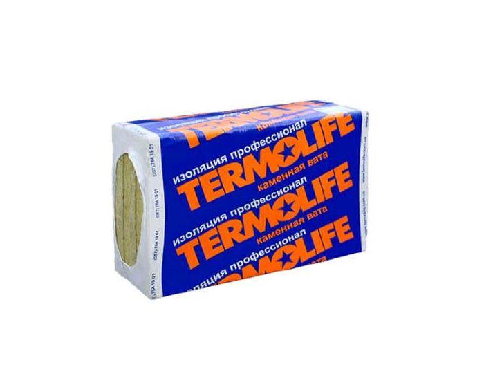 Базальтова вата Termolife ЕКО ЛАЙТ 100мм (щільність 30 кг / м3)
