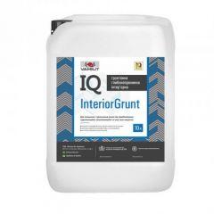 Грунтовка интерьерная глубокопроникающая IQ InteriorGrunt 10л