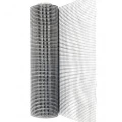 Сітка оцинкована зварна (для стяжки підлоги) 12,5 * 25 0,7 мм 1,0 / 30м